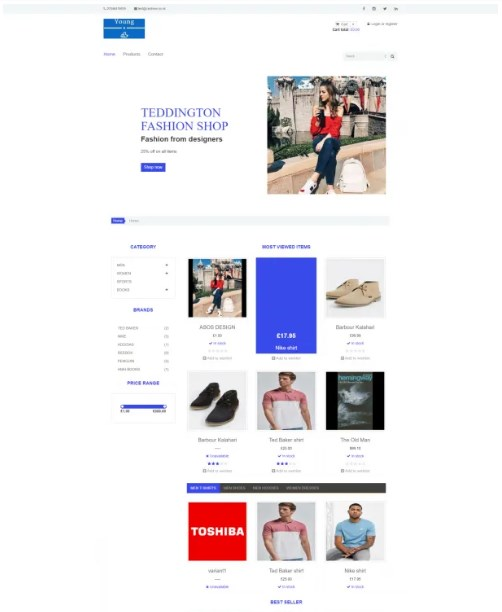Young Ecommerce Theme